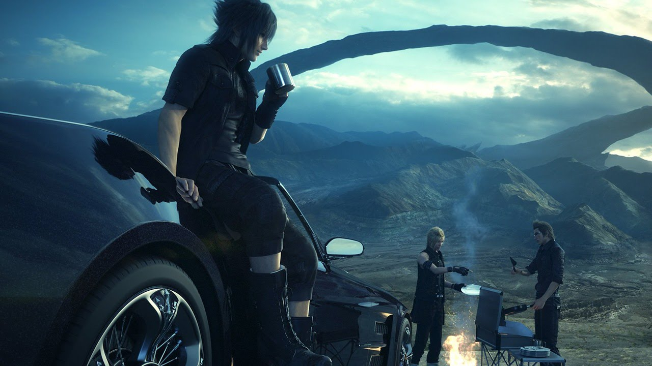 Four Bros on a Joyride AKA the new Final Fantasy XV Trailer